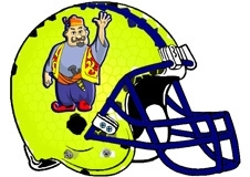 arabian-man-fantasy-football-helmet-logo