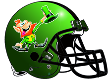 crazy-leprechaun-fantasy-football-helmet-logo
