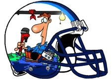 flooded-plumber-pipe-wrench-fantasy-football-helmet