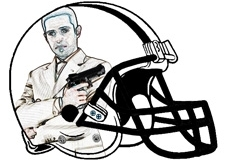 man-with-gun-fantasy-football-helmet-logo