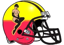 topless-woman-sexy-fantasy-football-helmet-logo