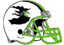 Witches Fantasy Football Logo Helmet