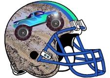 mudslinger-monster-truck-fantasy-football-helmet-logo